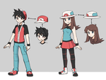 Red x Blue Redesigns (with shade) by Lawman09