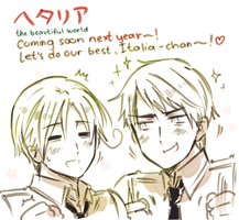 Good Luck HETALIA~ by ROSEL-D