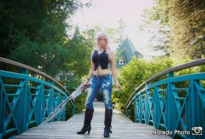 Lightning Dissidia 012  (Aya Brea Ver.) Cosplay by Queen-Azshara