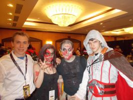 Zombies and Assassin's Creed Cosplay -Momocon 2014 by Atlantagirl