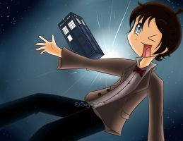Doctor Who by SugarJem