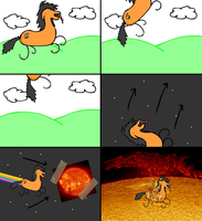 Adventures of badly drawn Solrac by VagueDoodles