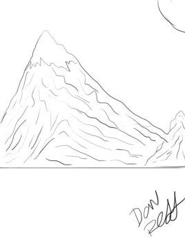 mountain by thedat