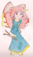 Holley as Merida by CaramelCreampuff
