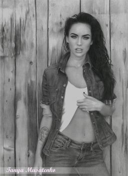 Megan Fox by TanyaMusatenko