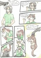 Stoat transformation! by RaiinbowRaven