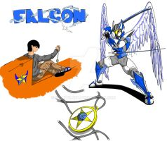 Falcon Warrior Wind Master by samuelnff