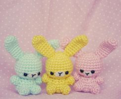 Jelly Bean Bunnies by milliemouse579