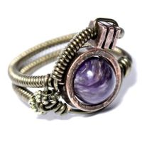 Steampunk Ring H by CatherinetteRings