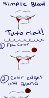 Simple Blood Tutorial by King-Marcial