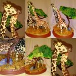 Giraffe Couple Final by sammim123