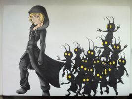 Roxas and the Heartless by simplexcalling
