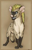 Hyena by Qaoss
