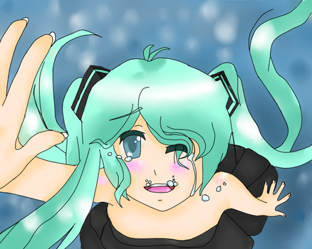 Deep-Sea girl Miku by Deidara45