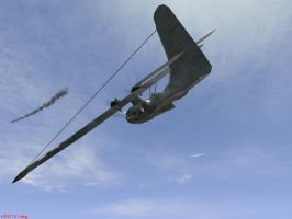 Dogfighting Float Plane/Bomber by Der-Buchstabe-R