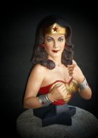 Wonder Woman statue 1 by alvarohs