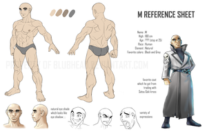 M reference sheet part 1 by blubhead