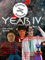 Channel Awesome Year IV FAN-MADE Poster 2 by NitroBlaster96