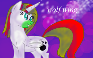 wolf wing for wiktoria00 by piracikowata