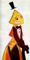 Object Head!Bill Cipher by PuccaFanGirl