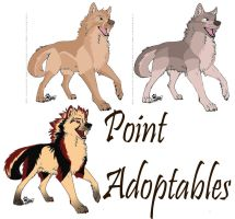 wolf adoptables :CLOSED: by WenWeCollide