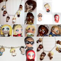 Chibi true blood charms by spaztazm