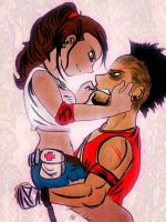 The chronicles of Anna + Vaas Montenegro by RandyDrawings