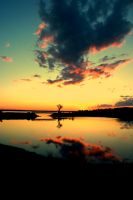 Sunset in Shediac Better Quality by 683876965