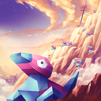 Pokemon Porygon by Magochocobo