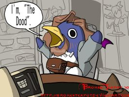The Prinny Lebowski by BrokenTeapot