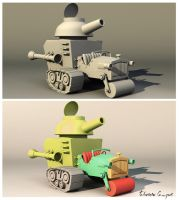 Wacky Races by fabriciocampos