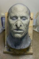 Sculpt for Orc makeup. by DaveGrasso