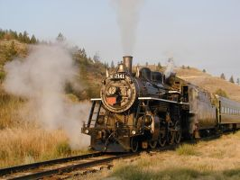 Steaming Out by CelGen