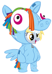 Dash's Derpy Doppelganger by PixelKitties