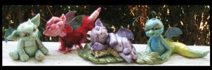 Littles Fantasy Creatures by KabiDesigns