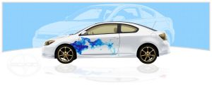 Skin a Scion tC by thesuper
