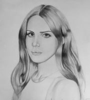 Lana Del Rey by Thessa-drawings