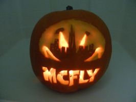 Supercity Pumpkin by ChrissySpamps