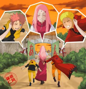 Back to home_NaruSaku by Ravenniia