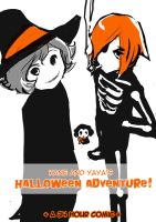 halloween adventure-24h comic by missveryvery