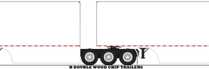B Double Wood Chip Trailers by mcspyder1