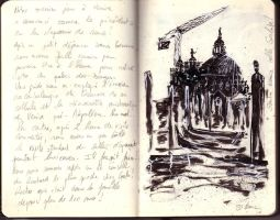 Venice sketch book 4 by JulienHB