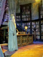 dumbledore's  office WB sets studio tour props. by Sceptre63