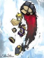 Steampunk Rayman by thedustud