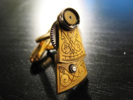 The Most Awesome Cufflinks by rhin-sowilo