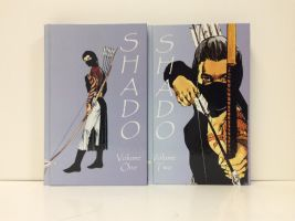 Shado Volumes Finished Front Covers by daarkanjel