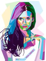 NINA DOBREV on WPAP by Bastianfield