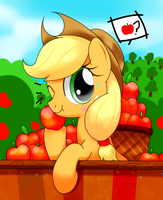 WanNa Apple by hoyeechun