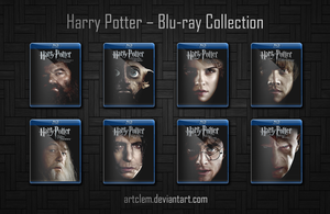 Harry Potter Folder Icons - Complete Collection by ArtClem