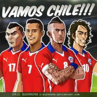 Vamos Chile Avatar by e-guerrero